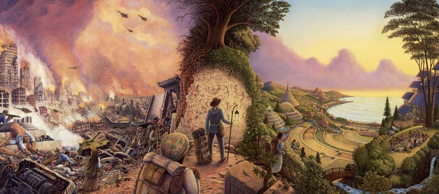 Vectors of Consumption, Dreams of Soil